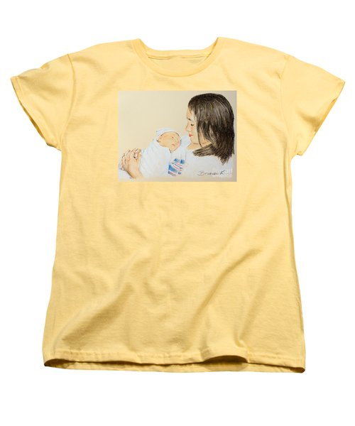 Here I Am Sister Women's T-Shirt (Standard Cut) by Katharina Filus