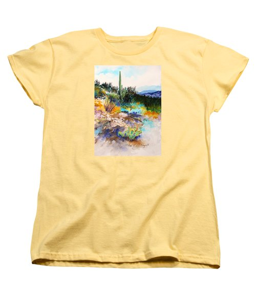 High Desert Scene 2 Women's T-Shirt (Standard Cut) by M Diane Bonaparte