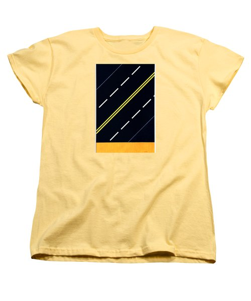 Highway Women's T-Shirt (Standard Cut) by Thomas Gronowski