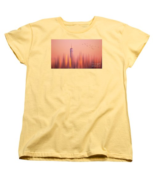 Women's T-Shirt (Standard Cut) featuring the photograph Towards Freedom by Rima Biswas
