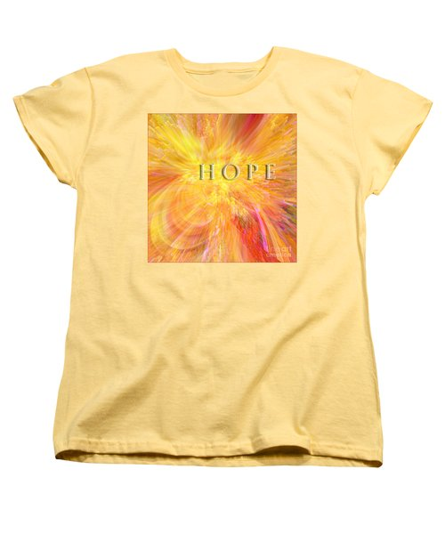 Hope Women's T-Shirt (Standard Cut) by Margie Chapman