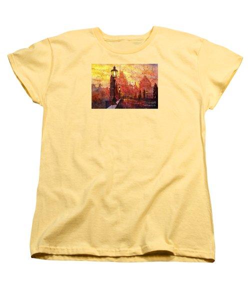 Horizontal Flip Women's T-Shirt (Standard Cut)