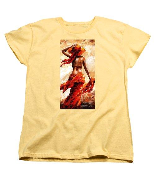 Hot Breeze #02 Women's T-Shirt (Standard Cut) by Emerico Imre Toth