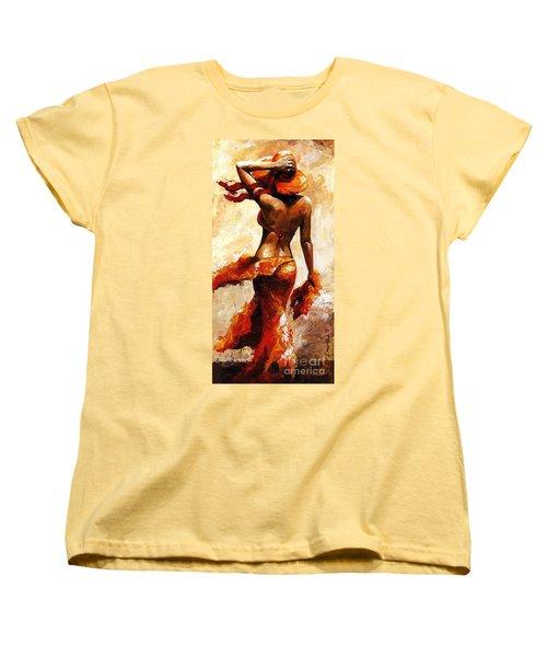 Hot Breeze  Women's T-Shirt (Standard Cut) by Emerico Imre Toth