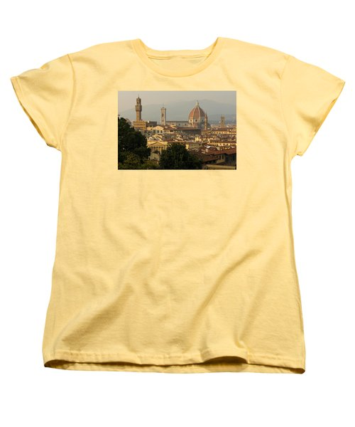 Hot Summer Afternoon In Florence Italy Women's T-Shirt (Standard Cut)