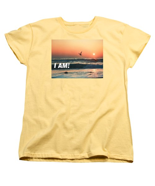 The Great I Am  Women's T-Shirt (Standard Cut) by Belinda Lee