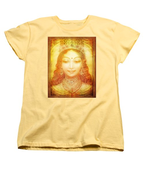 Women's T-Shirt (Standard Cut) featuring the mixed media I Am That by Ananda Vdovic