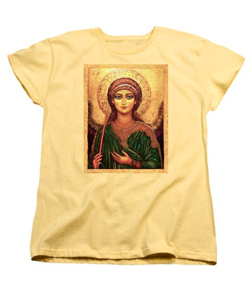 Icon Angel Women's T-Shirt (Standard Cut) by Ananda Vdovic