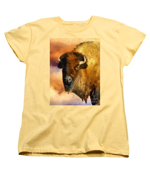 Icon Of The Plains Women's T-Shirt (Standard Cut) by RC deWinter