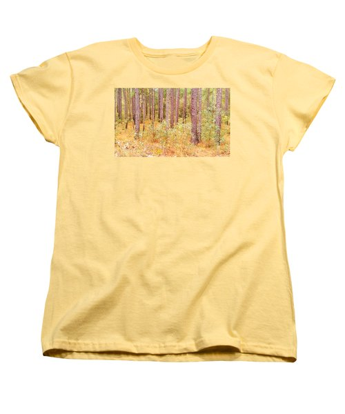 Imaginary Forest Women's T-Shirt (Standard Cut) by Fortunate Findings Shirley Dickerson