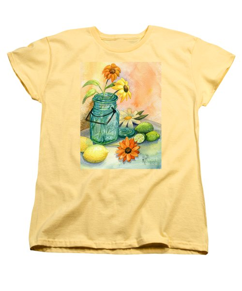 In The Lime Light Women's T-Shirt (Standard Cut) by Marilyn Smith