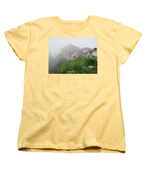 Women's T-Shirt (Standard Cut) featuring the photograph In The Mist by Pema Hou