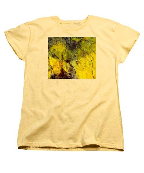 Women's T-Shirt (Standard Cut) featuring the photograph In Yellow  by Danica Radman