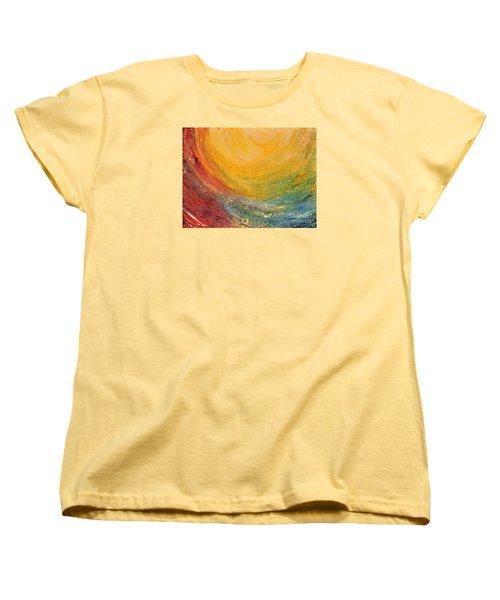 Infinity Women's T-Shirt (Standard Cut) by Teresa Wegrzyn