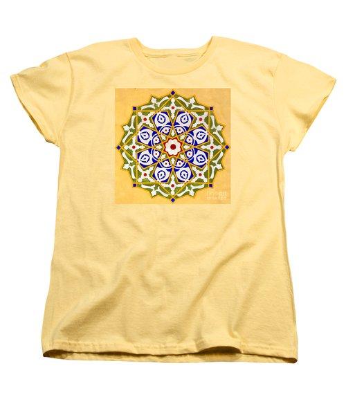Islamic Art 09 Women's T-Shirt (Standard Cut) by Antony McAulay