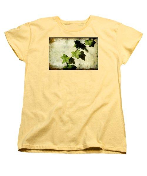Ivy Women's T-Shirt (Standard Cut) by Ellen Cotton