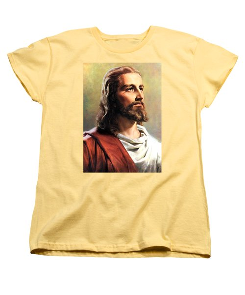 Jesus Christ Women's T-Shirt (Standard Cut) by Munir Alawi
