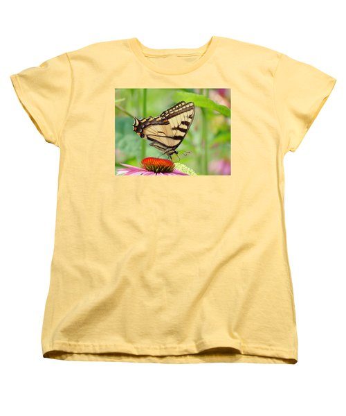 July Swallowtail Women's T-Shirt (Standard Cut) by MTBobbins Photography