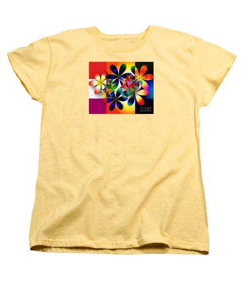 Women's T-Shirt (Standard Cut) featuring the digital art Just A Note by Iris Gelbart