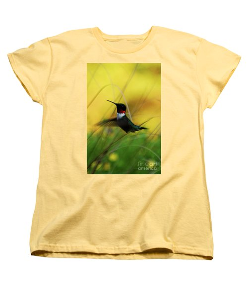 Just Flying Women's T-Shirt (Standard Cut) by Lori Tambakis