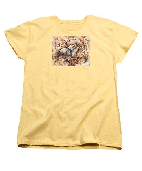Kaleidoscope Rider Women's T-Shirt (Standard Cut)