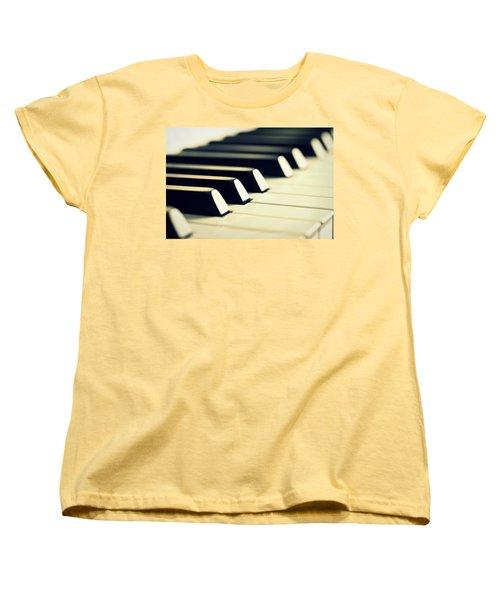Keyboard Of A Piano Women's T-Shirt (Standard Cut)