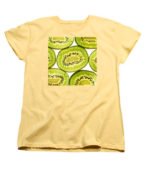 Kiwi Fruit IIi Women's T-Shirt (Standard Cut) by Paul Ge