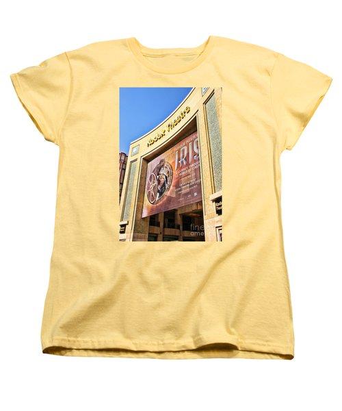 Kodak Theatre Women's T-Shirt (Standard Cut) by Mariola Bitner