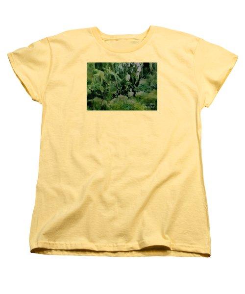 Kudzombies Women's T-Shirt (Standard Cut) by Elizabeth Carr