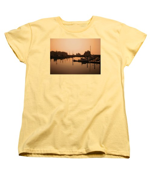 La Push In The Afternoon Women's T-Shirt (Standard Cut) by Kym Backland