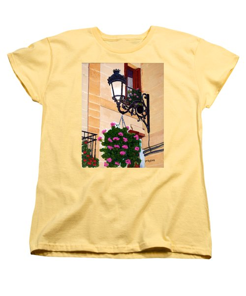Laguardia Street Lamp  Women's T-Shirt (Standard Cut) by Mike Robles