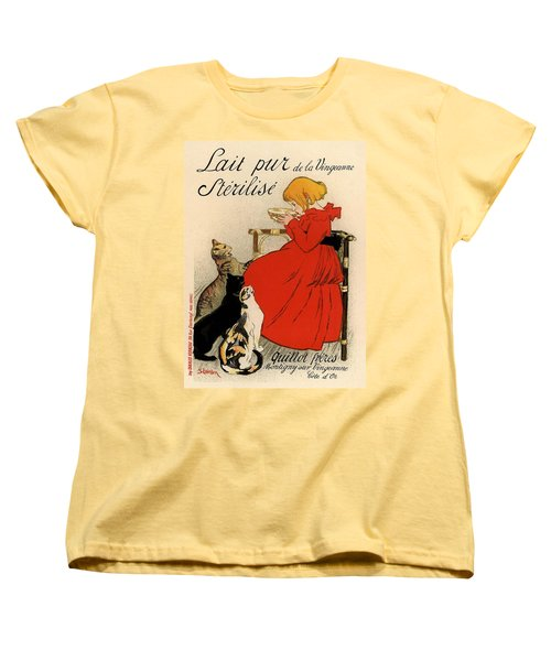 Lait Pur De La Vingeanne Sterilise Women's T-Shirt (Standard Cut) by Gianfranco Weiss