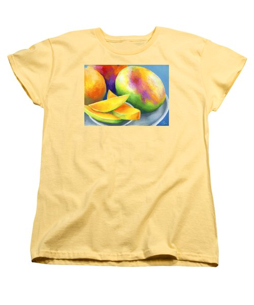 Last Mango In Paris Women's T-Shirt (Standard Cut) by Stephen Anderson