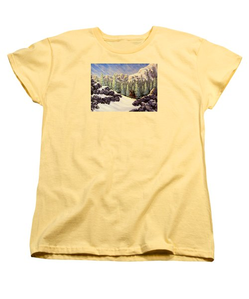 Late Crossing Women's T-Shirt (Standard Cut) by Jack Malloch