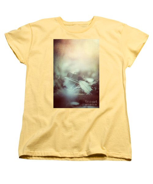 Leaves Of Time  Women's T-Shirt (Standard Cut) by Trish Mistric