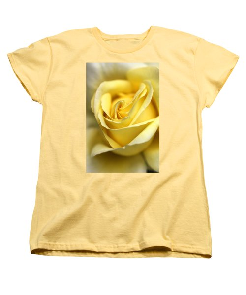 Women's T-Shirt (Standard Cut) featuring the photograph Lemon Lush by Joy Watson