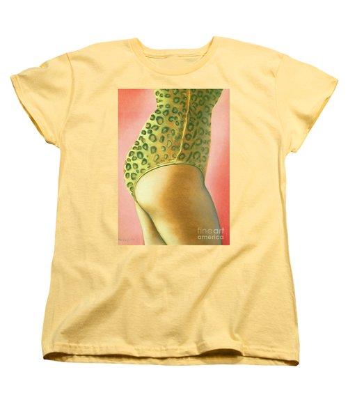 Leopard Suit Women's T-Shirt (Standard Cut) by Mary Ann  Leitch