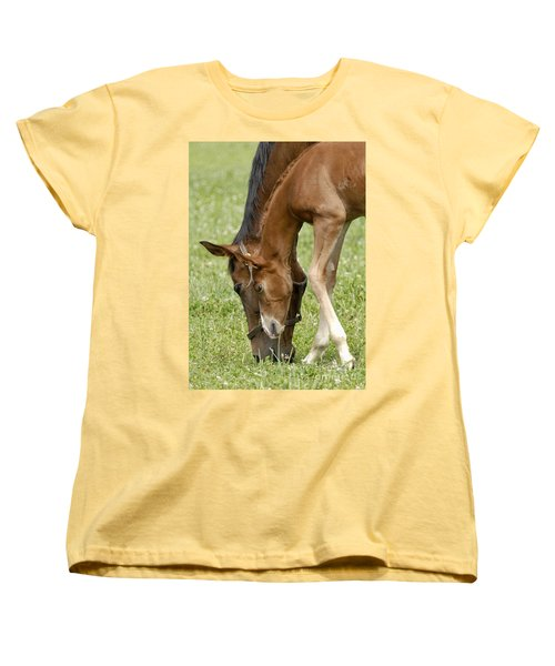 Women's T-Shirt (Standard Cut) featuring the photograph Lessons From Mom by Sami Martin