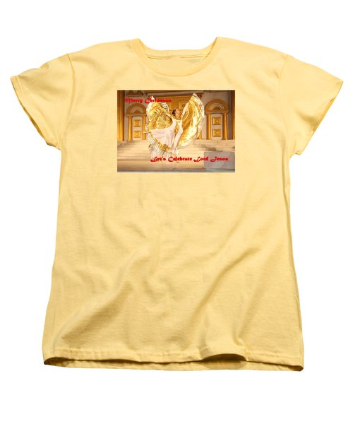 Let's Celebrate Lord Jesus4 Women's T-Shirt (Standard Cut) by Terry Wallace
