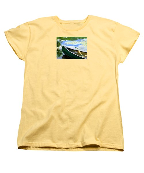Let's Go Out In The Old Town Women's T-Shirt (Standard Cut) by Angela Davies