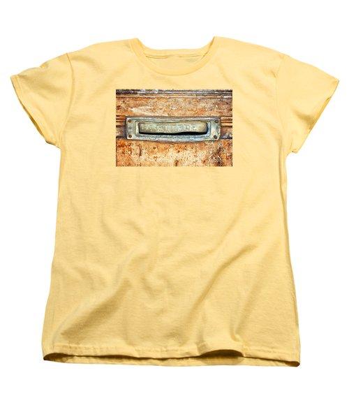 Lettere Letters Women's T-Shirt (Standard Cut) by Silvia Ganora