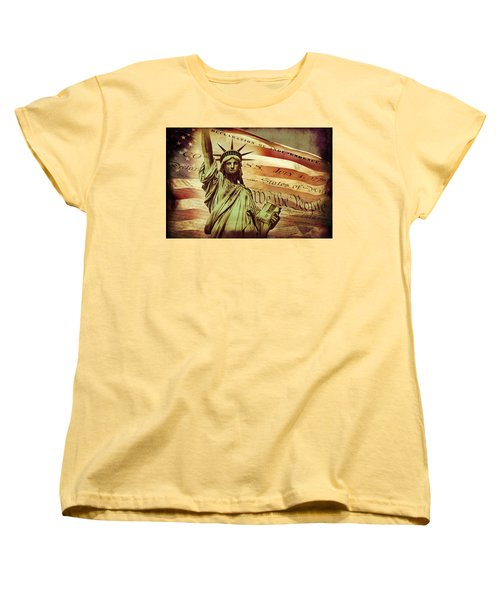 Declaration Of Independence Women's T-Shirt (Standard Cut) by Az Jackson