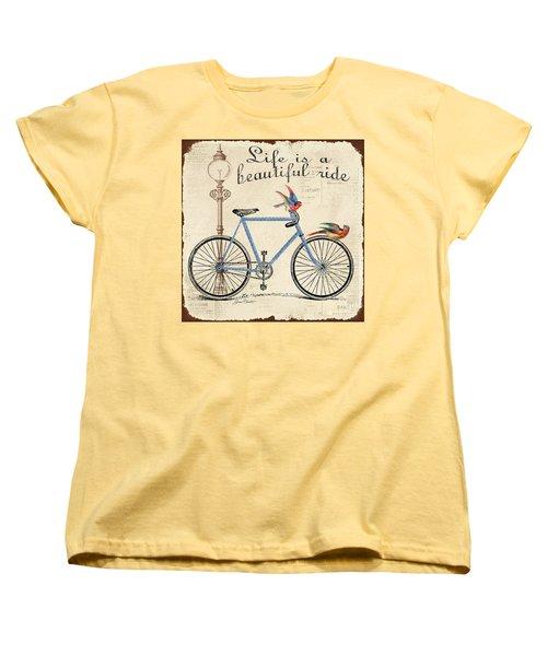 Life Is A Beautiful Ride Women's T-Shirt (Standard Cut)