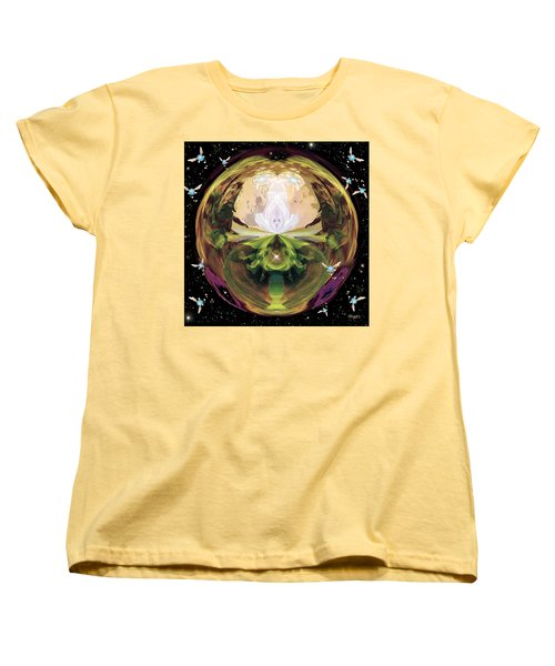 Link From The Legend Of Zelda Women's T-Shirt (Standard Cut) by Paula Ayers