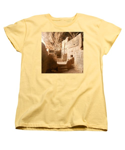 Women's T-Shirt (Standard Cut) featuring the photograph Living In The Rocks by Kerri Mortenson