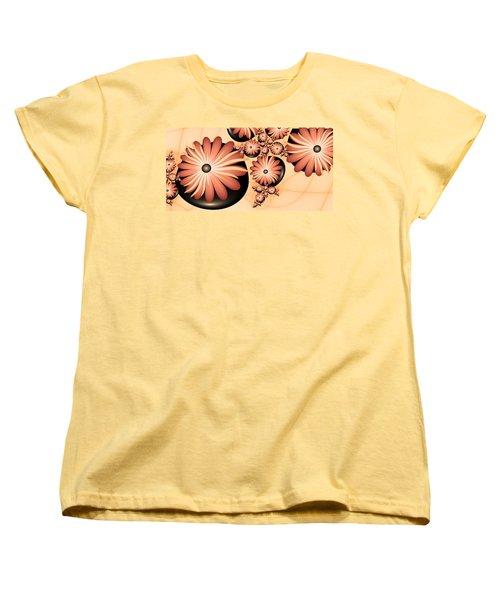 Women's T-Shirt (Standard Cut) featuring the digital art Living Stones by Gabiw Art