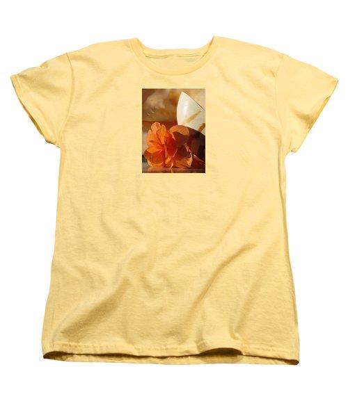Longing For The Sea Women's T-Shirt (Standard Cut) by Angela Davies