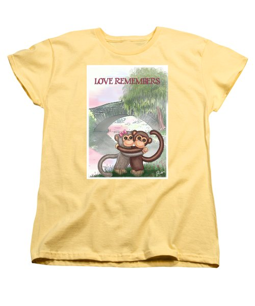 Love Remembers Women's T-Shirt (Standard Cut) by Jerry Ruffin