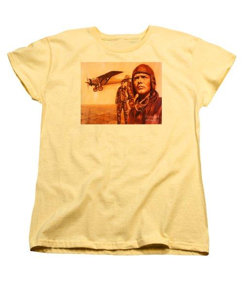 Lucky Lindy Women's T-Shirt (Standard Cut)