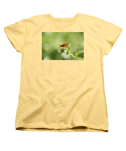 Women's T-Shirt (Standard Cut) featuring the photograph Lunch Time by Amy Gallagher